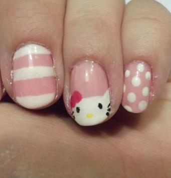 Cutest Hello Kitty Nail Art Idea For Cool Girl Apk Download Free