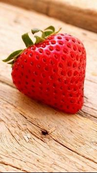 Cute strawberry live wallpaper apk screenshot