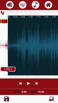 Ringtone Maker and MP3 Cutter apk screenshot