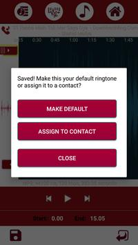 Ringtone Maker and MP3 Cutter screenshot 5