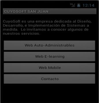 Cuyosoft San Juan poster