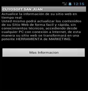 Cuyosoft San Juan screenshot 1