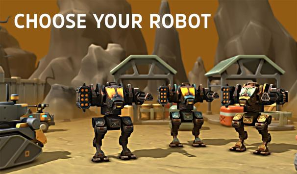 Robots War Story 3D apk screenshot