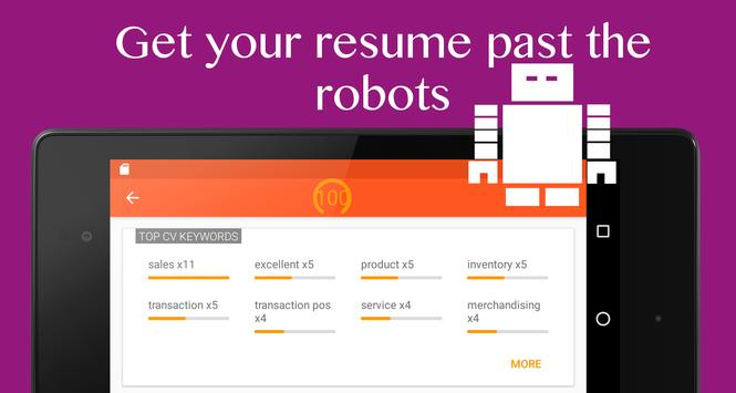 CV 4 Interview - Resume & Jobs apk screenshot