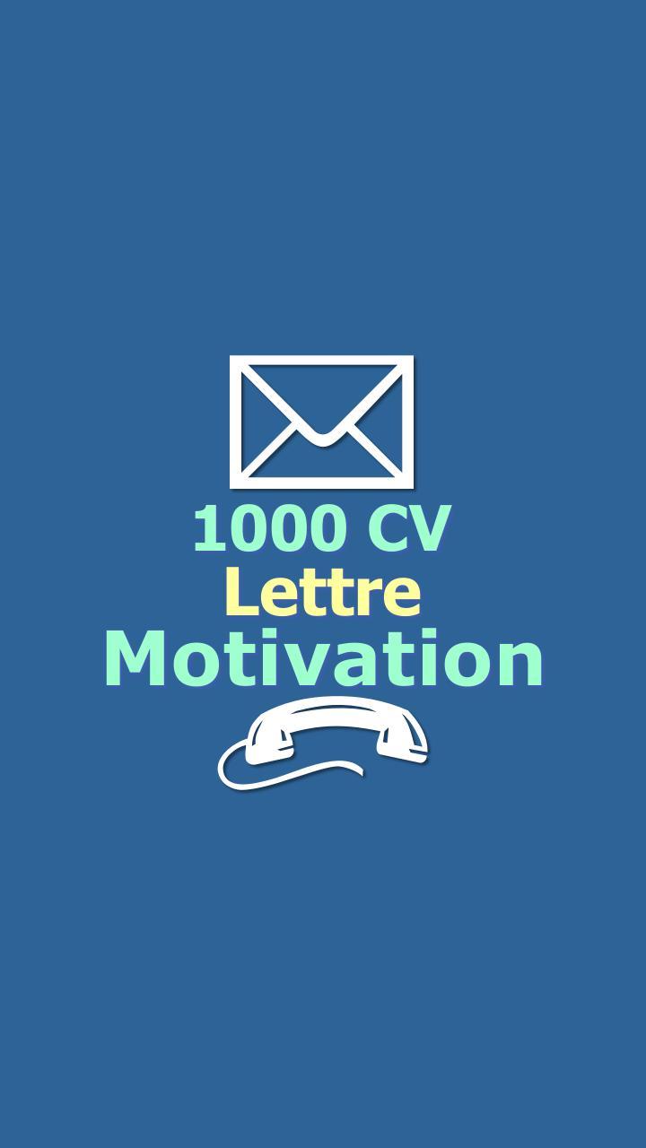 Lettre De Motivation Et Cv For Android Apk Download