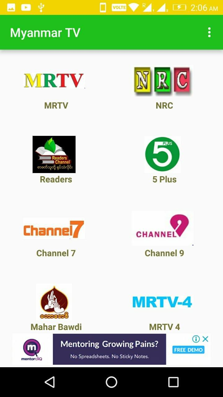 TV Myanmar - All Live TV for Android - APK Download