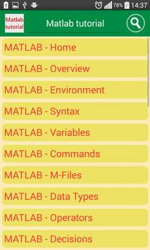 matlab tutorial poster