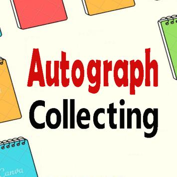 Autograph Collecting | basic knowledge poster