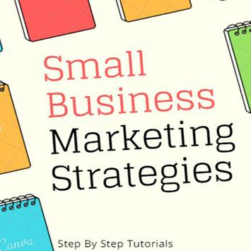 Small Business Marketing Ebook poster