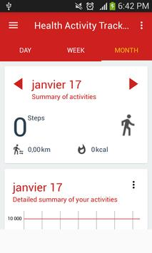 Health Activity Tracker screenshot 5
