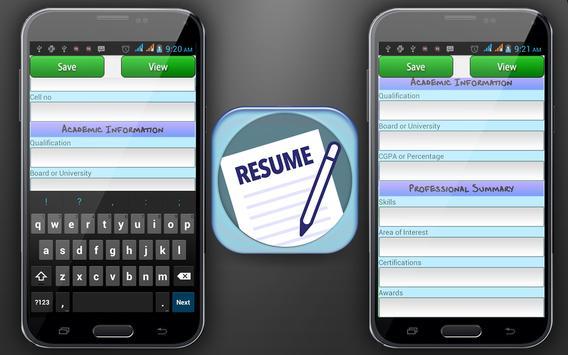 curriculum vitae maker apk download free education app for