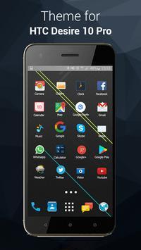 Theme launcher for HTC Desire 10 Pro screenshot 3