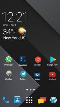 Theme launcher for HTC Desire 10 Pro screenshot 5
