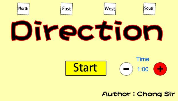 Direction game screenshot 1