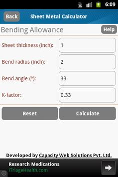 Sheet Metal Calculator for Android - APK Download
