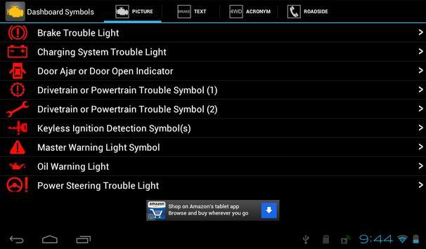 Vehicle Dashboard Symbols Apk Download Free Auto Vehicles App