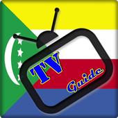 TV Comoros Guide Free icon