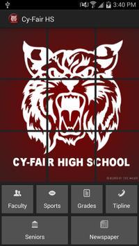 Cy-Fair High School poster