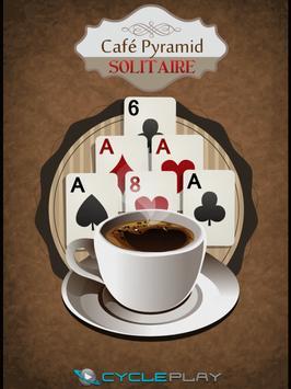 Café Pyramid Solitaire poster
