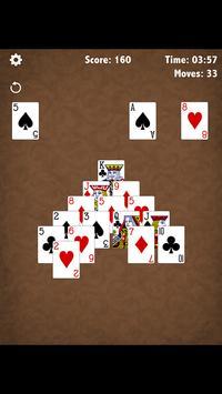Café Pyramid Solitaire apk screenshot