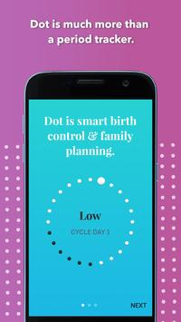 Dot Period Tracker & Fertility Tracker apk screenshot