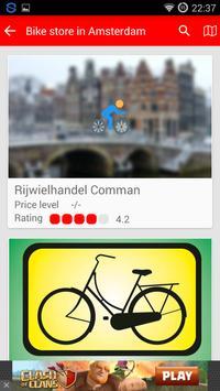 Amsterdam Bike Guide poster