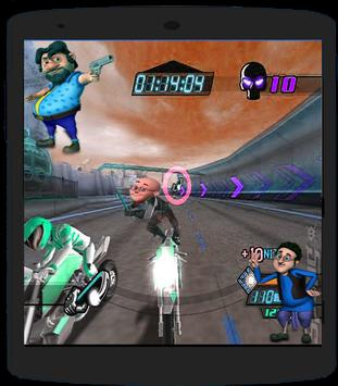Motu Patlu Bike Cycling apk screenshot