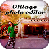 Village Photo Frame icon