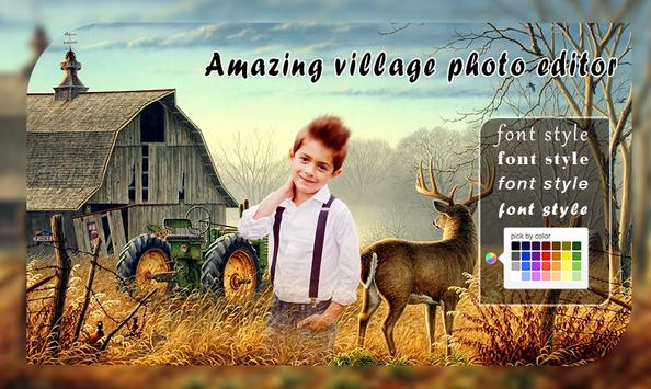 Village Photo Frame screenshot 2