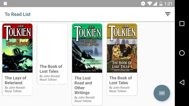 Read List, Create your library apk screenshot