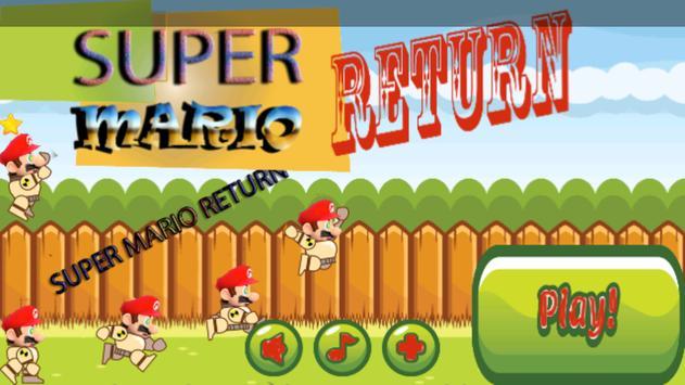 Super Cybor Mario Top Gun poster