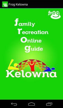 Frog Kelowna poster