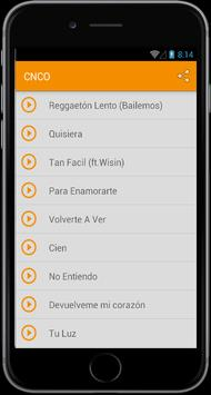 CNCO Reggaeton Lento poster