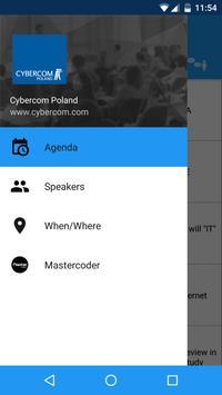 cybercomDEV poster