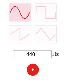 Simple tone generator free apk screenshot