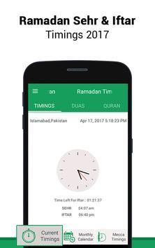 Ramadan Timings & MP3 Quran poster