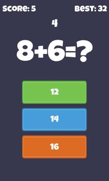 Fast Quick Math - math workout screenshot 2