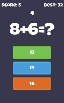 Fast Quick Math - math workout screenshot 7