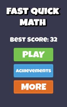 Fast Quick Math - math workout screenshot 5
