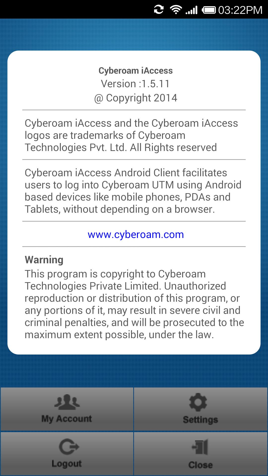 Cyberoam iAccess for Android - APK Download