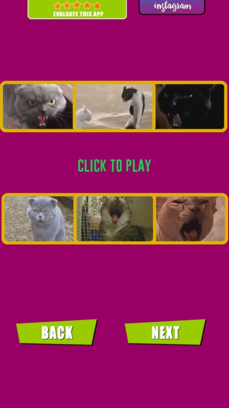 Angry cat soundboard