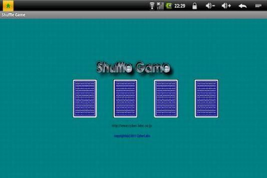 shuffle game poster