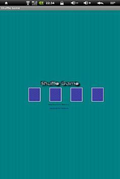 shuffle game apk screenshot