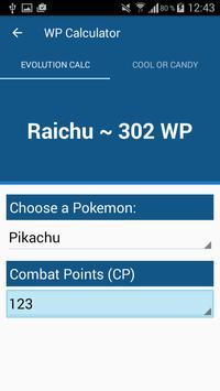 CP-Calculator for Pokemon Go poster