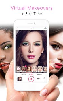 YouCam Makeup - Magic Selfie Makeovers الملصق