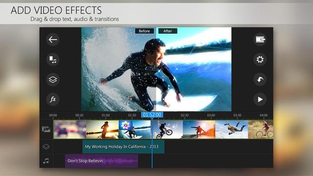 Apl editor vídeo PowerDirector imagem de tela 3