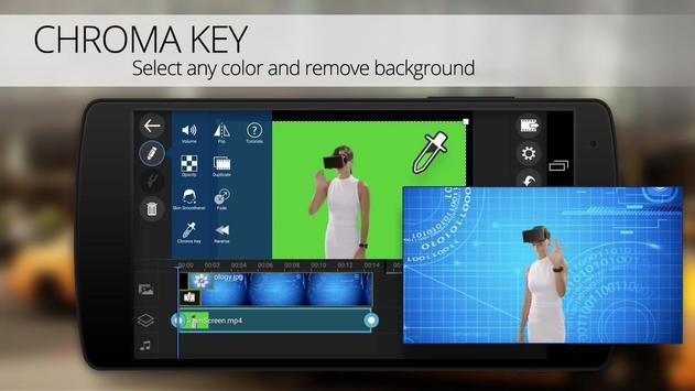 PowerDirector Video Editor App: 4K, Slow Mo & More पोस्टर