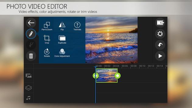 Apl editor vídeo PowerDirector imagem de tela 2