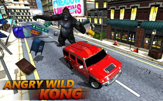 Monkey Kong City Attack 2017 poster
