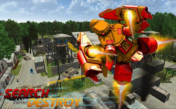 Robot War Army Clash apk screenshot
